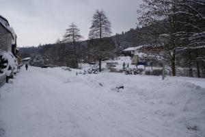 Schnee vor meiner Haustür